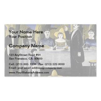 Niko Pirosmani- Family Feast Business Card Templates