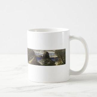Niko Pirosmani- Hunting Scene, View of Black Sea Coffee Mugs