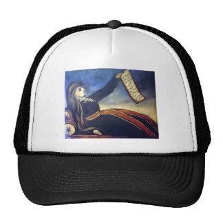 Niko Pirosmani - Reclining woman leaning on mutaka Hats