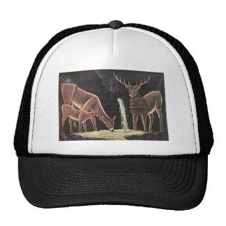 Niko Pirosmani- The family of deer Trucker Hat