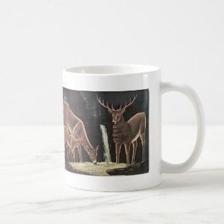 Niko Pirosmani- The family of deer Coffee Mug