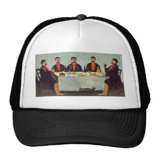 Niko Pirosmani- The Feast of Five Princes Trucker Hat