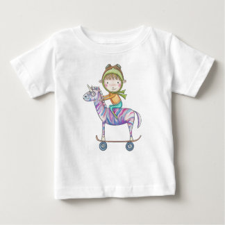 Niko the small explorer and his free baby T-Shirt