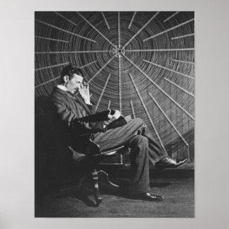 Nikola Tesla,1896 Poster