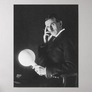 Nikola Tesla 1898 Posters