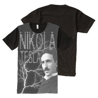 Nikola Tesla All-Over Print T-Shirt