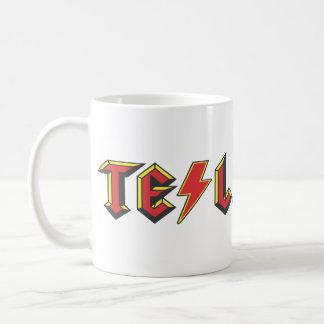 Nikola Tesla Basic White Mug
