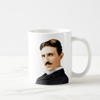 Nikola Tesla Electrical Genius Coffee Mug