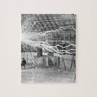 Nikola Tesla Electricity Jigsaw Puzzle