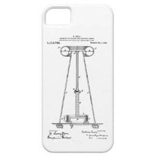 Nikola Tesla Energy Transmission Pantent US1119732 Barely There iPhone 5 Case