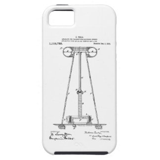 Nikola Tesla Energy Transmission Pantent US1119732 iPhone 5 Case