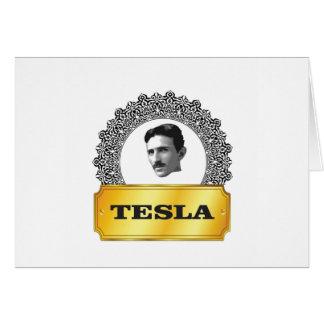nikola tesla gold card