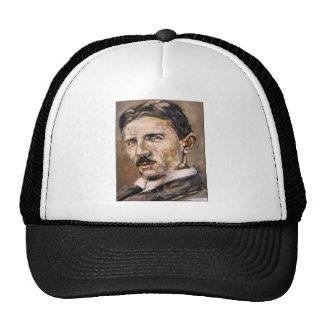 Nikola Tesla Trucker Hats