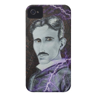 Nikola Tesla iPhone 4 Case-Mate Cases