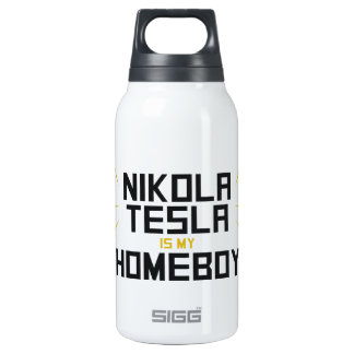 Nikola Tesla is My Homeboy 0.3L Insulated SIGG Thermos Water Bottle