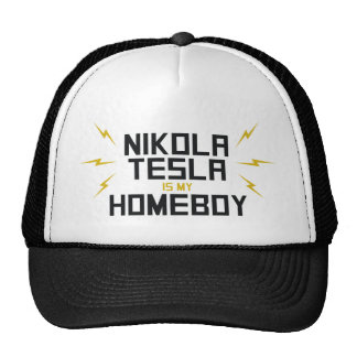 Nikola Tesla is My Homeboy Cap