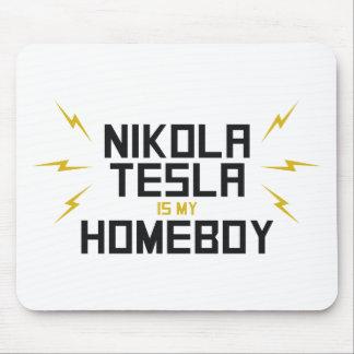 Nikola Tesla is My Homeboy Mousepads