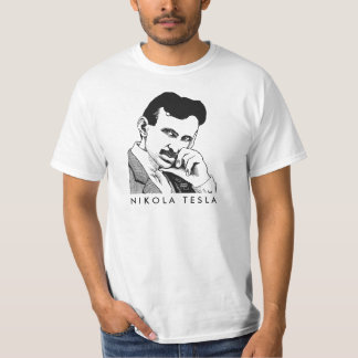 Nikola Tesla male shirt