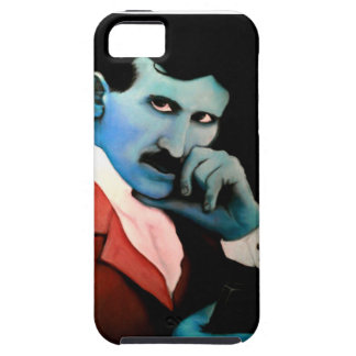 Nikola Tesla on phone Case For The iPhone 5