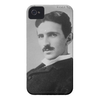 Nikola Tesla Portrait iPhone 4 Case