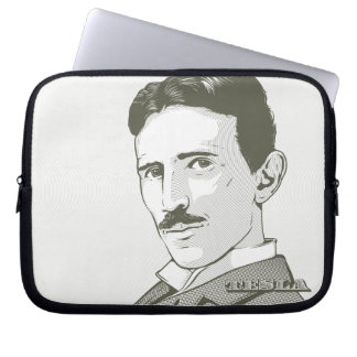 Nikola Tesla Portrait Laptop Sleeve