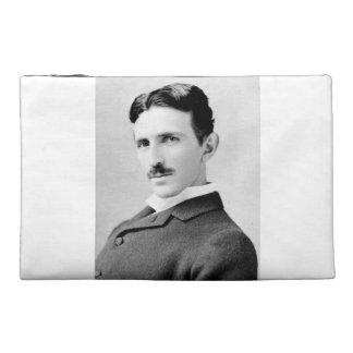 Nikola Tesla Portrait Travel Accessory Bag