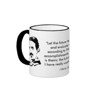 Nikola Tesla & Quote Mug