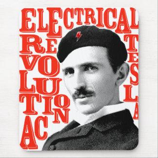 Nikola Tesla revolution Mouse Pad
