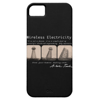 Nikola Tesla Tower Barely There iPhone 5 Case