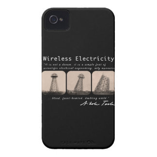 Nikola Tesla Tower iPhone 4 Case-Mate Cases