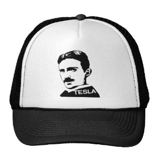 Nikola Tesla Vintage T-Shirt Trucker Hat