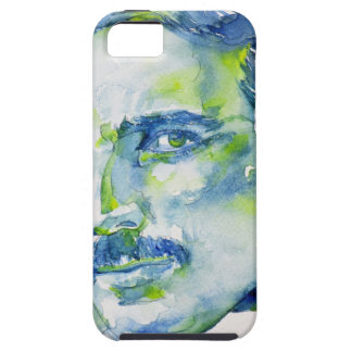 nikola tesla - watercolor portrait.1 case for the iPhone 5