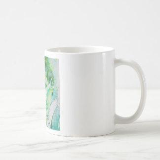 nikola tesla - watercolor portrait.2 coffee mug