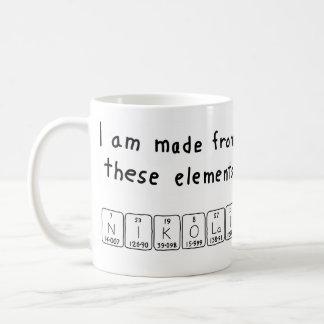 Nikolai periodic table name mug