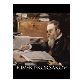 Nikolai Rimsky-Korsakov items Postcard