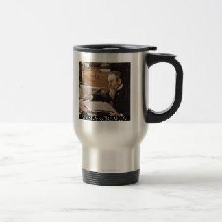 Nikolai Rimsky-Korsakov items Travel Mug