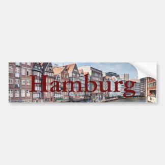 Nikolaifleet, Hamburg, Germany Bumper Sticker