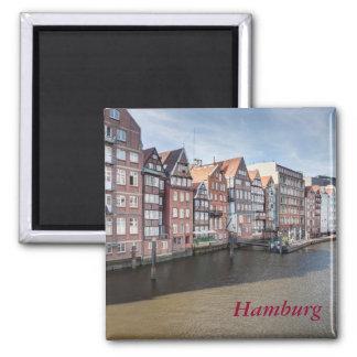 Nikolaifleet, Hamburg, Germany Magnet