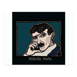 NikolaTesla Postcard