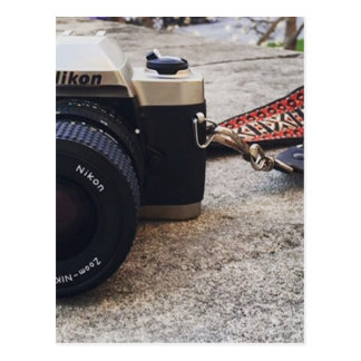 Nikon Film Camera Postcard