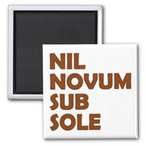 nil new fact sub brine fridge magnet