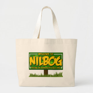 nilbog large tote bag