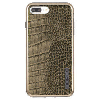 Nile Crocodile Classic Reptile Leather (Faux) Incipio DualPro Shine iPhone 8 Plus/7 Plus Case