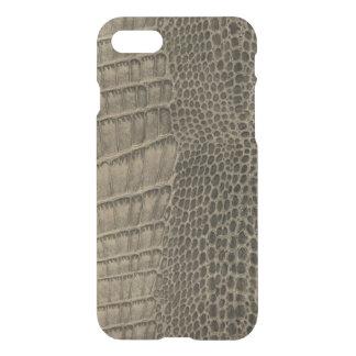 Nile Crocodile Classic Reptile Leather (Faux) iPhone 8/7 Case