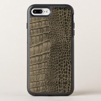 Nile Crocodile Classic Reptile Leather (Faux) OtterBox Symmetry iPhone 8 Plus/7 Plus Case