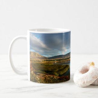 Nimez Lagoon at golden hour Coffee Mug