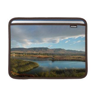 Nimez Lagoon at golden hour Sleeve For MacBook Air