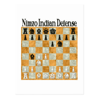 Nimzo-Indian Defense Postcard