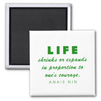 Nin on Courage Magnet