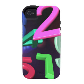 nine-217900_1920 COLORFUL 3DD NUMBERS nine null on Vibe iPhone 4 Cases